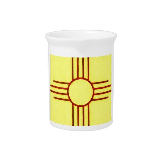 New Mexico Zia Beverage Pitchers