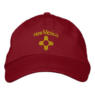NEW MEXICO - ZIA (Sun) Embroidered Hat