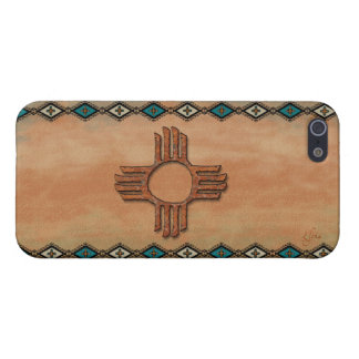 New Mexico Zia (sun) iPhone 5/5S Cover