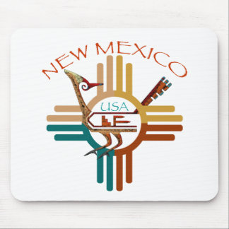 New Mexico's Roadrunner & Zia Mouse Pad