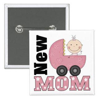 New Mom Button