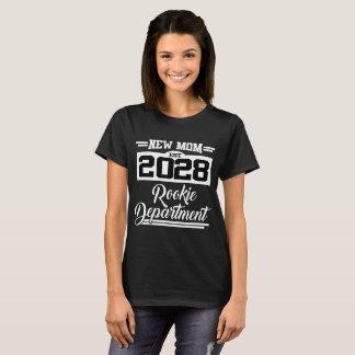 NEW MOM EST 2028 ROOKIE DEPARTMENT T-Shirt