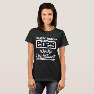 NEW MOM EST 2029 ROOKIE DEPARTMENT T-Shirt