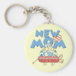 New Mom It's a Boy Tshirts and Gifts Keychains