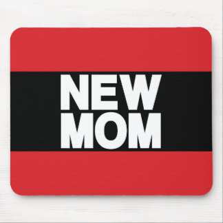 New Mom Lg Red Mouse Pad