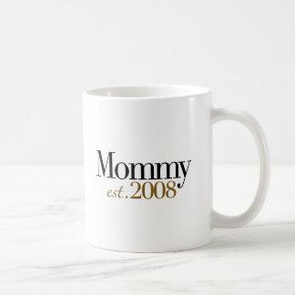 New Mommy Est 2008 Coffee Mug