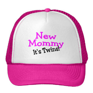 New Mommy Twin Girls Hats