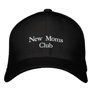 New Moms Club Embroidered Cap Hat Embroidered Baseball Cap