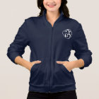 New Monsoon Logo (white) Women's Fleece Jacket