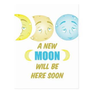 New Moon Postcard