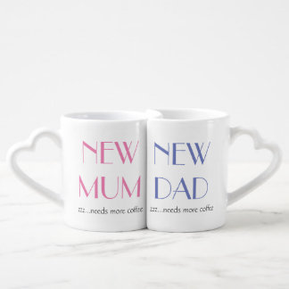 New Mum & Dad Mug Set.