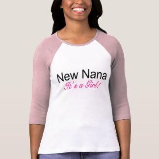 New Nana Its A Girl T-Shirt