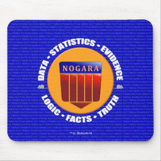 NEW NOGARA Official Seal Logo RatPad Mouse Pad