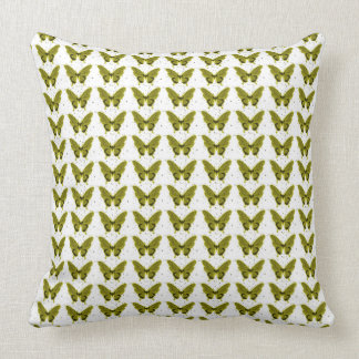 NEW-OLIVE-Butterflies-Lumbar_Square Sz Throw Pillow