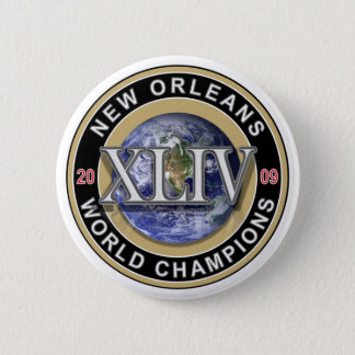 New Orleans 2009 World Champions Football Button