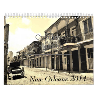 New Orleans 2014 Wall Calendars