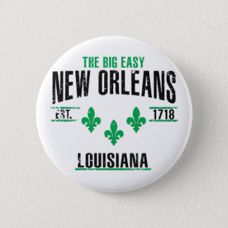 New Orleans 2 Inch Round Button