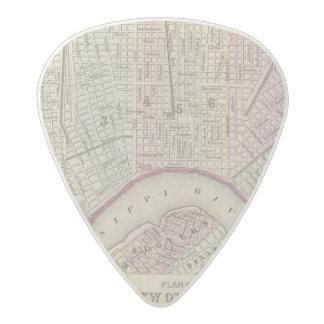 New Orleans 3 Acetal Guitar Pick