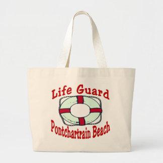 New Orleans Amusement Park Pontchartrain Beach Large Tote Bag