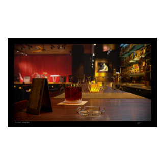 New Orleans - Bar & Lounge 3D Poster
