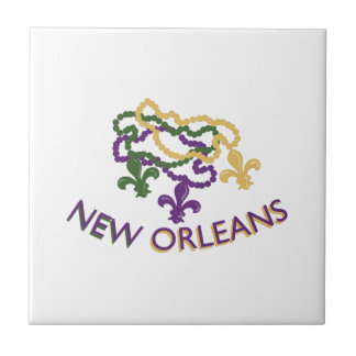 New Orleans Beads Tile