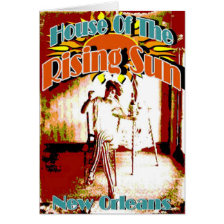 New Orleans Brothels, House of the Rising Sun Card