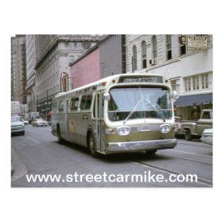 New Orleans Bus 1 Postcard