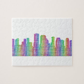 New Orleans city skyline Puzzles