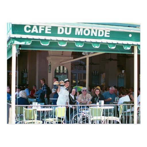 New Orleans Coffee and Beignets Post Cards