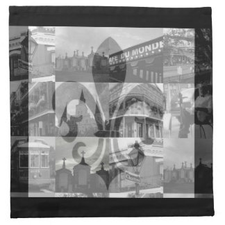 New Orleans Collage [Cloth Napkins] Napkin