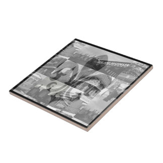 New Orleans Collage [Trivet] - Small Tile