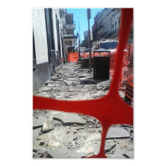 NEW ORLEANS CONSTRUCTION PHOTO PRINT
