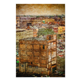 new Orleans Decatur Textures Photo Print