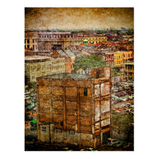 New Orleans Decatur Textures Postcard