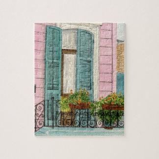 New Orleans Door Puzzle