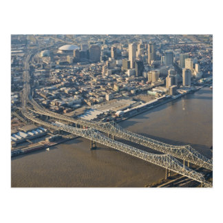 New Orleans Downtown Aerial Postcard