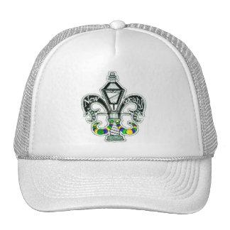 NEW ORLEANS FLEUR DE LIS TRUCKER HAT