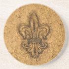 New Orleans French Fleur de Lis Coaster