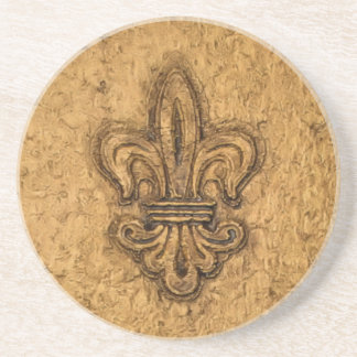 New Orleans French Fleur de Lis Coaster