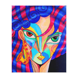 New Orleans Girl Canvas Print