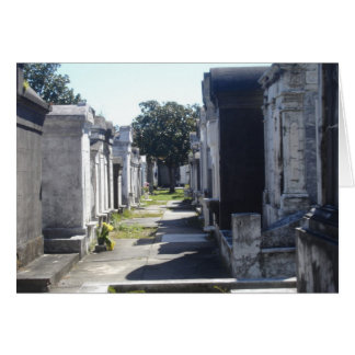 New Orleans Graves  Card