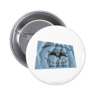 New Orleans Greys Flag 2 Inch Round Button