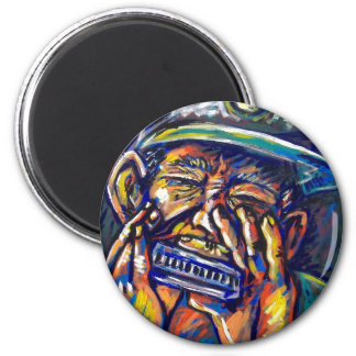 new orleans harmonica blues magnet