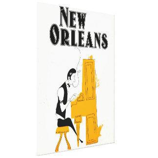 New Orleans Honky Tonk Canvas Print