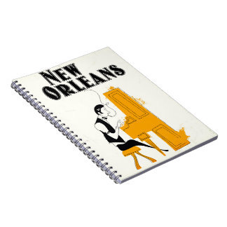 New Orleans Honky Tonk Notebook