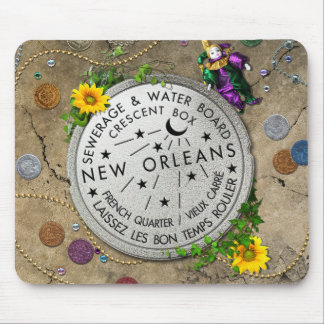 New Orleans Iconic Water Meter Mouse Pad