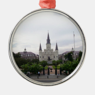 New Orleans Jackson Square Metal Ornament