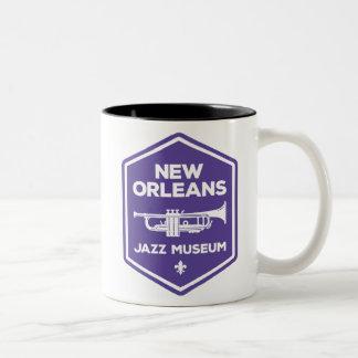 New Orleans Jazz Museum Trumpet Mug