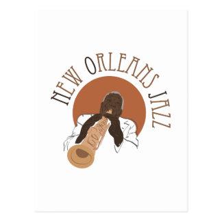 New Orleans Jazz Postcard