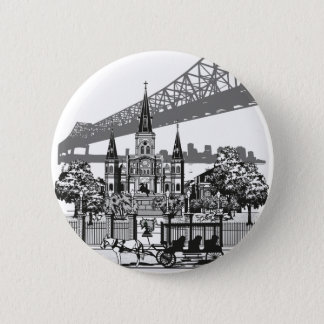 New Orleans Louisiana 2 Inch Round Button
